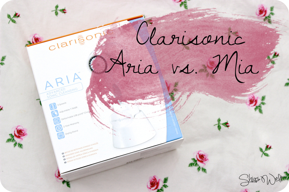 Vergleich Clarisonic Aria und Mia