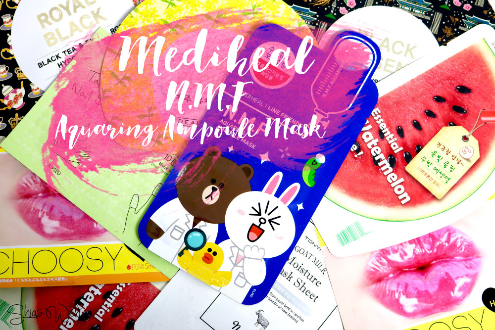 MEDIHEAL AQUARING AMPOULE MASK Beauty Shias Welt