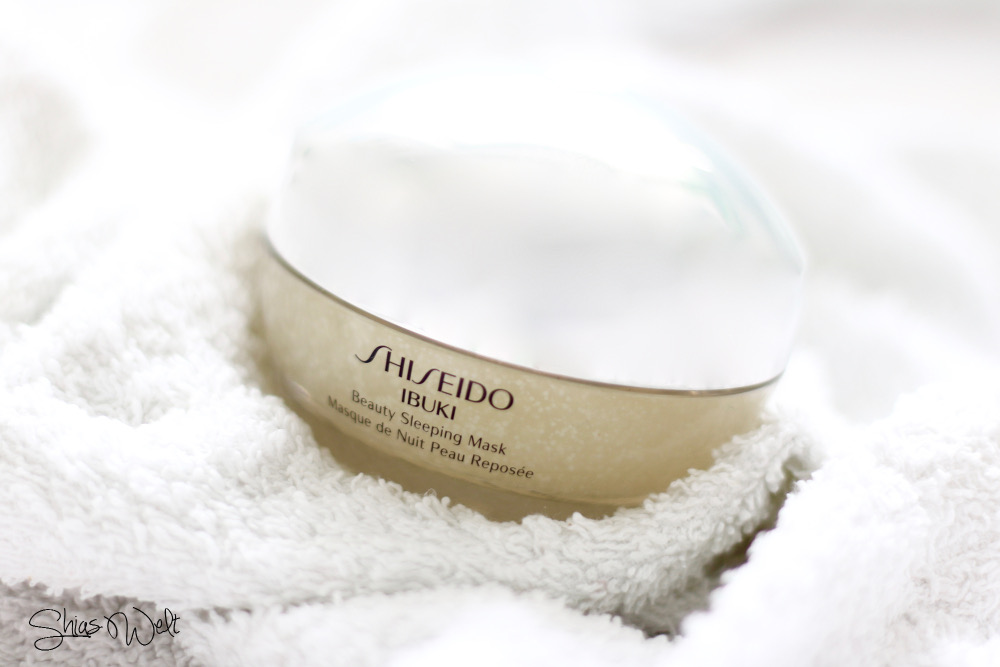 Beauty-Sleeping-Mask-Shiseido-Ibuki-Neuheit-Review