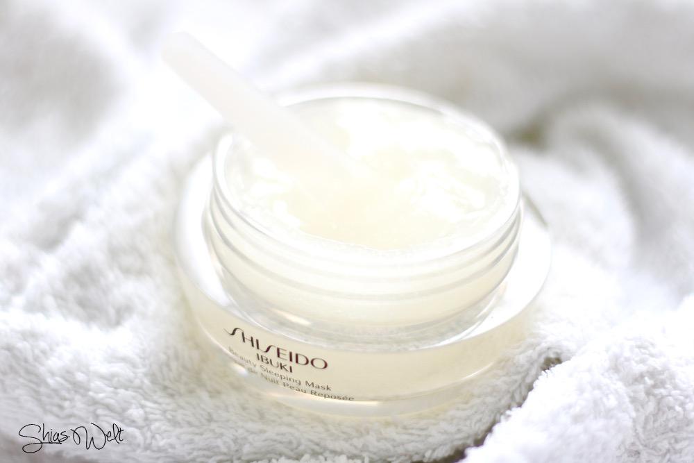 Ibuki-Shiseido-Sleeping Beauty Mask-Erfahrung