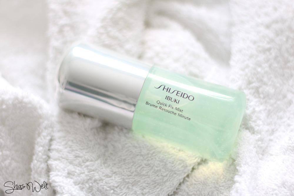 Quick Fix Mist - Shiseido-Ibuki-Review-Erfahrung-Beauty Blog