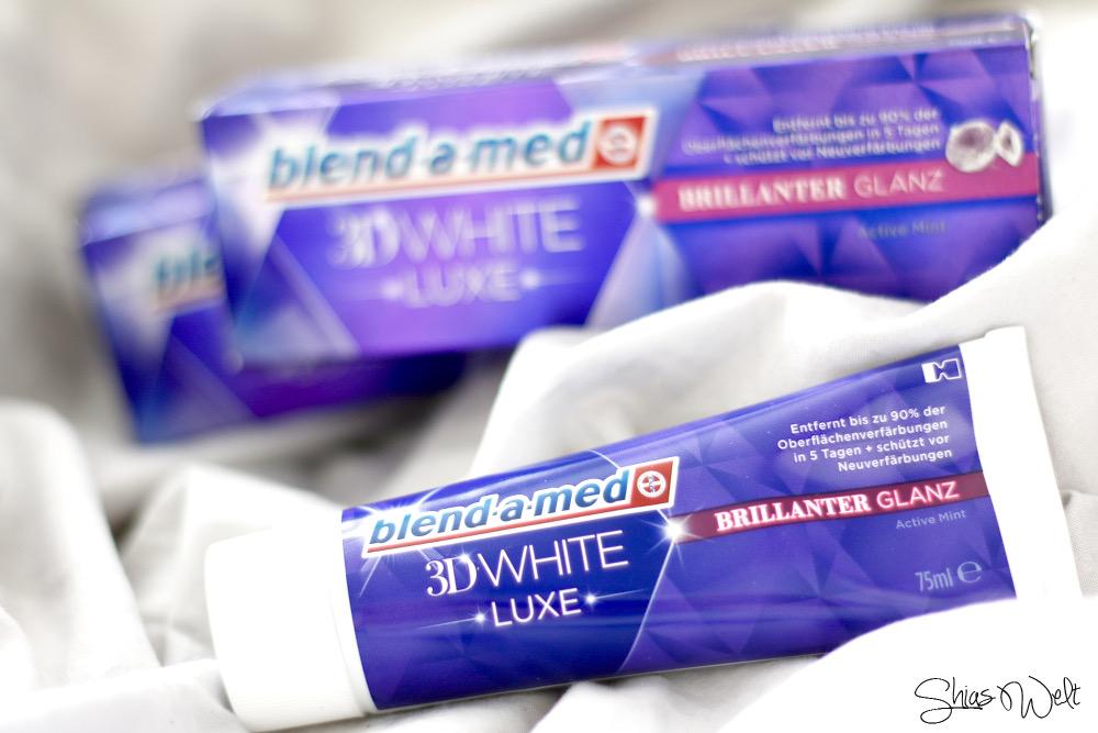 blend a med white 3d luxe Zahnpasta Zahnweiß Erfahrung