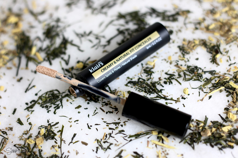Creamy and Natural Fit Concealer Dear Klairs Review Swatch Erfahrung Test