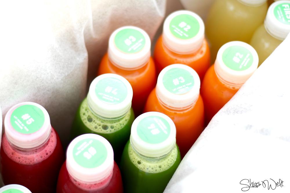 Dean and David Superfoods Online Bestellen Detox Saftkur Review Blog Erfahrung