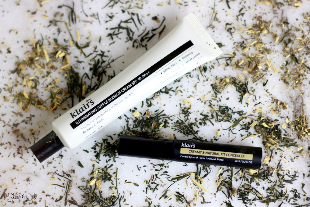 Dear Klairs Illuminating Supple Blemish Cream SPF 40 PA ++ Creamy and Natural Fit Concealer