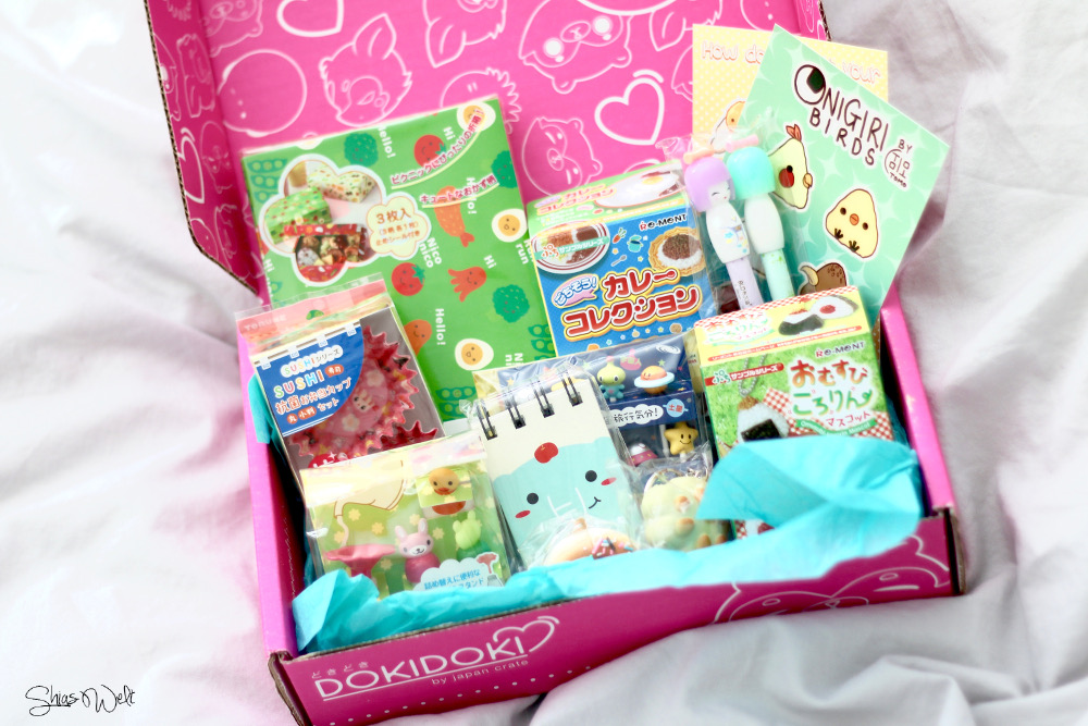 DokiDoki Crate March Mars Japa Crate Box Kawaii 2016 Candy Food Box japan Order Test