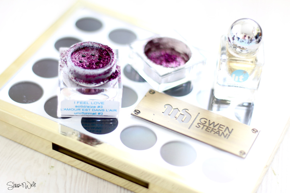 I feel Love Lit Glitter Size 3 Swatch Make Up Look Erfahrung Test Review
