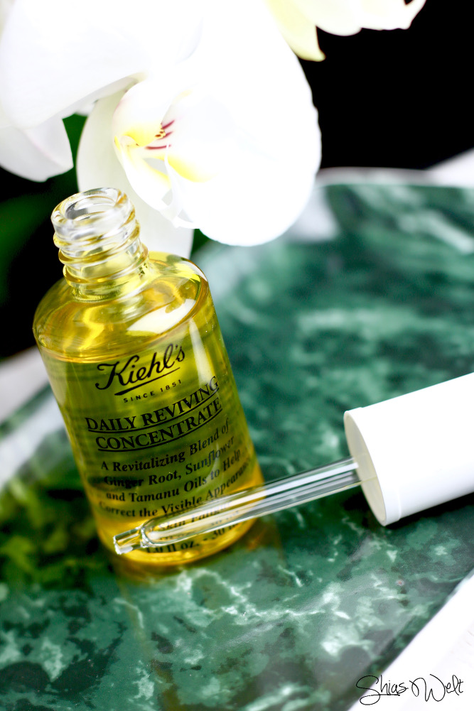 Kiehls Morning Concentrate Daily Reviving Bericht Blog