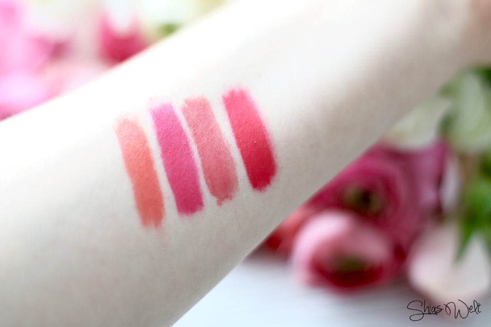 Lip Powder Rire Beauty Blog Shias Welt Swatches Pink Lip Stick
