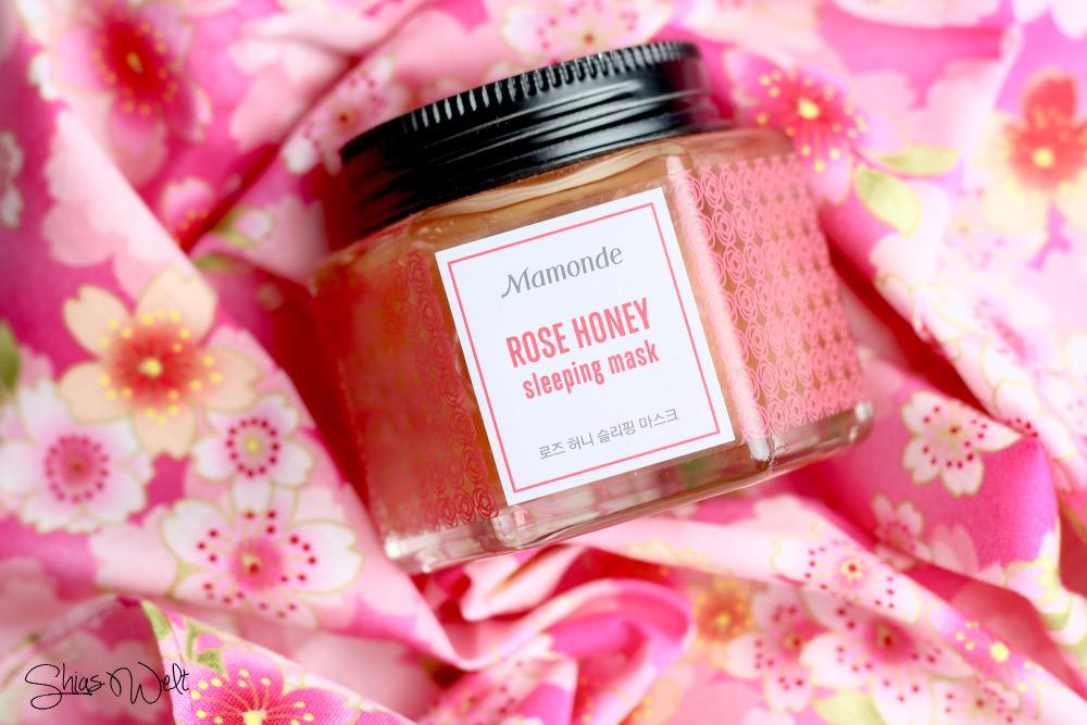 Mamonde Rose Honey Sleeping Mask Erfahrung Review Blog