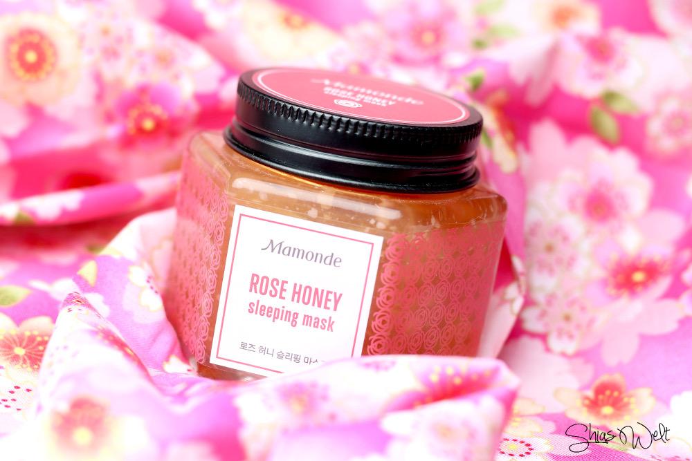 Mamonde Schlafmaske Rose Mask Honey