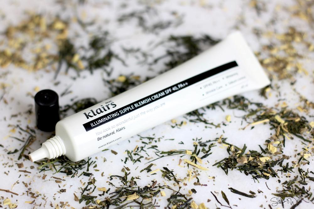 Review Erfahrung Test Blog Beauty Dear Klairs Illuminating Supple Blemish Cream SPF 40 PA ++
