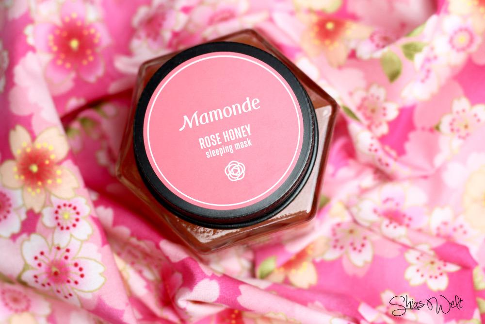 Rose Honey Maske Sleeping Pack Mamonde Test