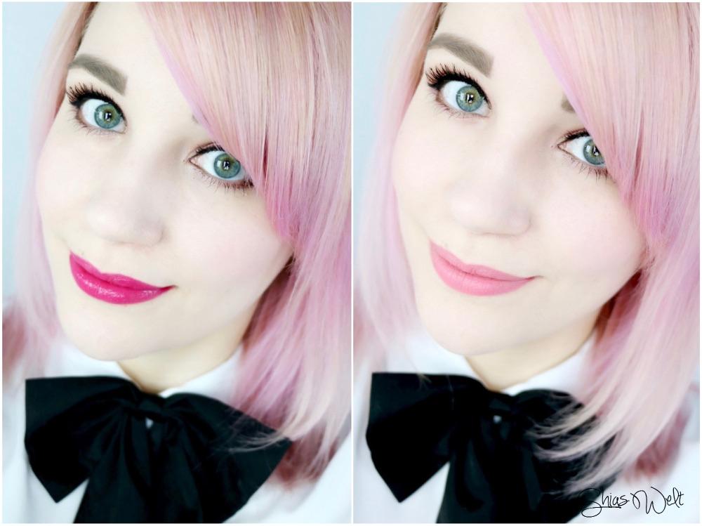 Yves Saint Laurent Tragebild kiss and Blush Review Beauty Blog