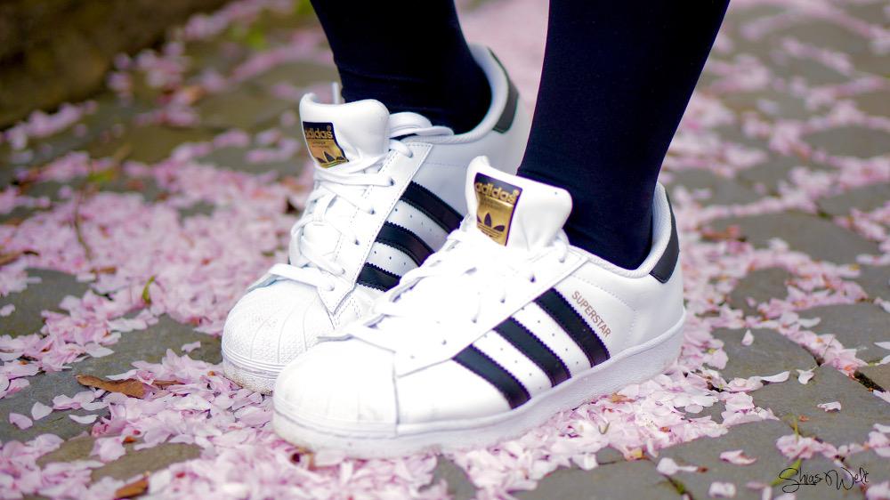 Adidas Superstar 90 Sakura Fashion Outfit Fashion Look Blog