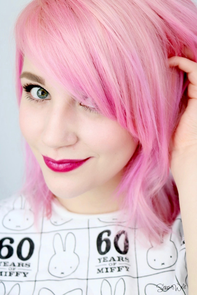 Clip In Extension Rubin Pastell Pink Hair Review Erfahrung Haltbarkeit Blog