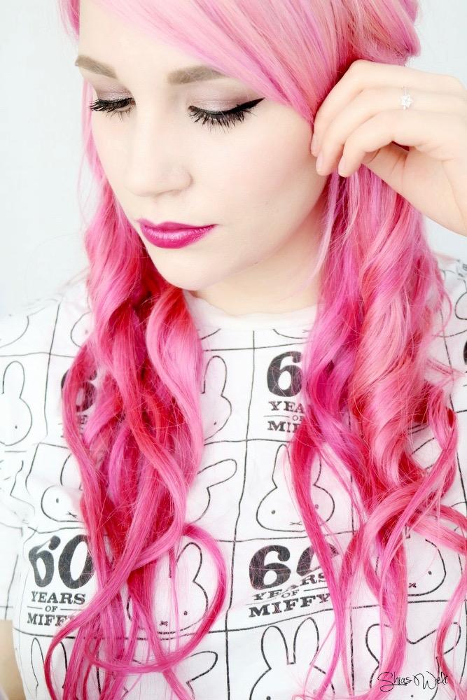 Extensions Rubin Pink Hair Pastel Clip In Klipp In