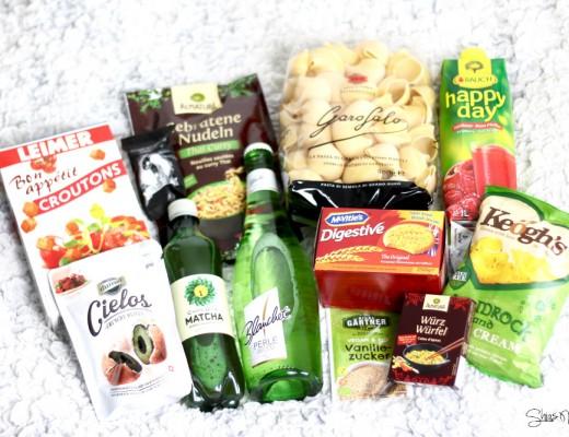 Degustabox April 2016 Inhalt  Test Review Blog Erfahrung Essens Box