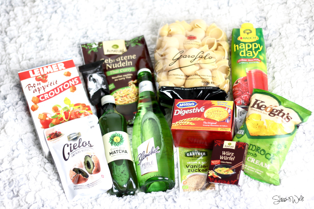 Degustabox April 2016 Inhalt Test Review Blog Erfahrung Essens Box