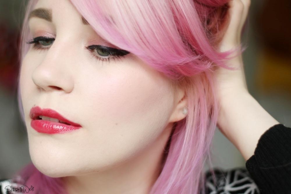 Innisfree Glow Tint Stick No.8 Review Swatch Swatches Erfahrung Test Make Up Beauty Blog Korean Beauty