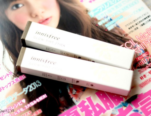 Innisfree Glow Tint Stick Review Erfahrung Online Test Tester Korea Swatch