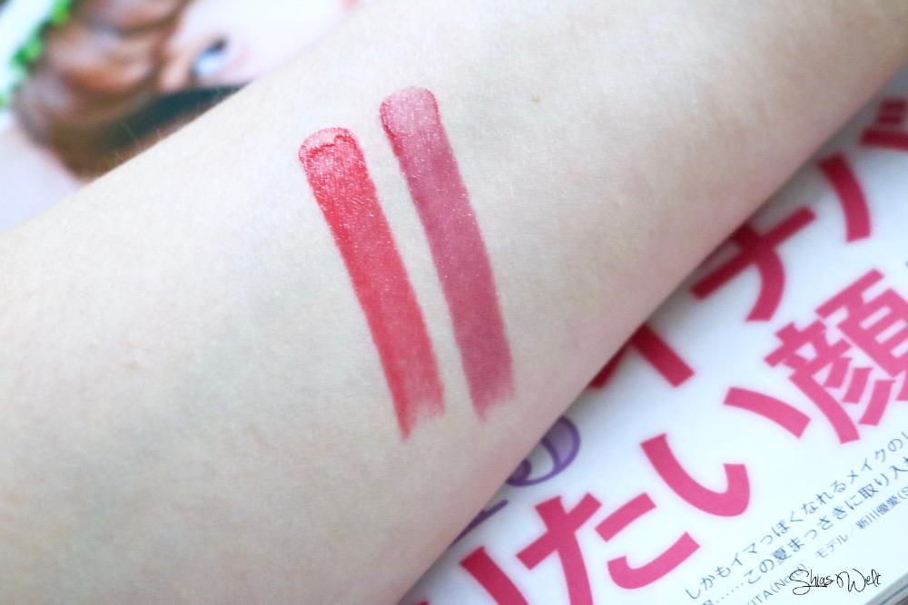 Innisfree Glow Tint Stick Review Stwatch 7 8 Korean Beauty