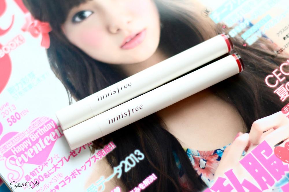 Innisfree Glow Tint Stick Review Swatches Swatch 7 8 korean Beauty Tester Korea