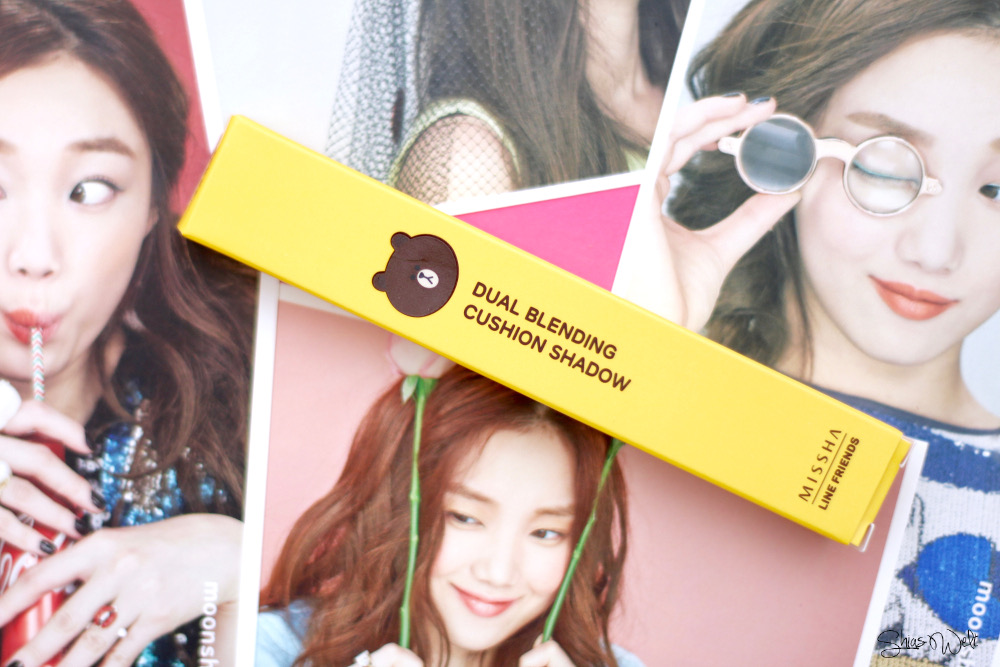 Missha Line Friends Eyeshadow Limited Edition Look Erfahrung Test Review
