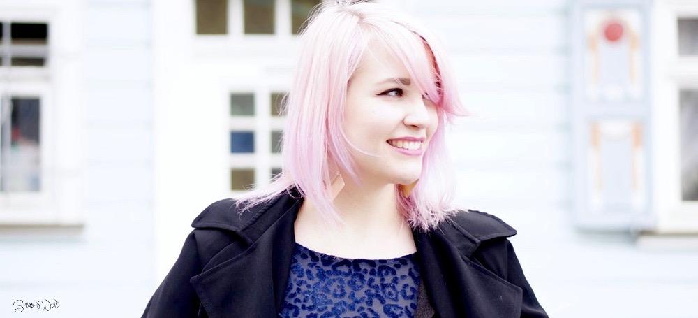 Pink pastel Hair how to Fashion Blogger ZARA Wonderplace Korea