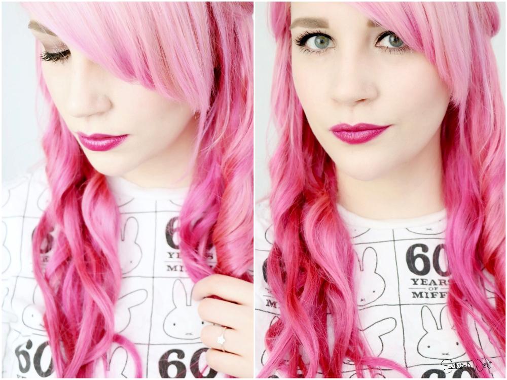 Rubin Extension Pink Hair Rosa Haare Pastel Clip In Echthaar Real Hair