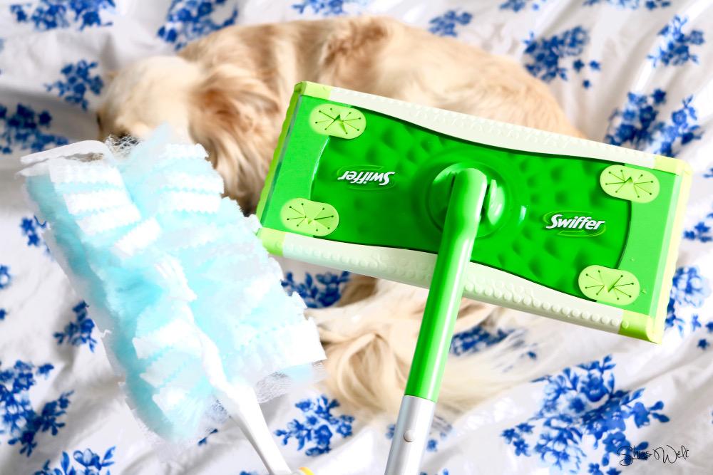 Swiffer Duster Staub Haare Hundehaare Schädlich Test Erfahrung funktioniertt Blog