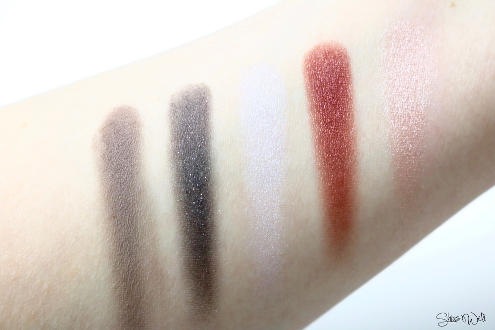Urban Decay Palette Vice Swatch Brush Look mAke Up Beauty