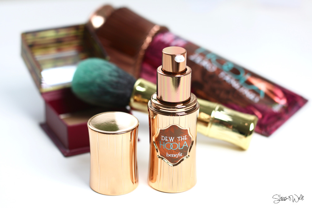 Benefit Hoola Dew the Hoola Bronzer Zero Tan Lines Review Erfahrung Anwendung Test Blog Beauty Online