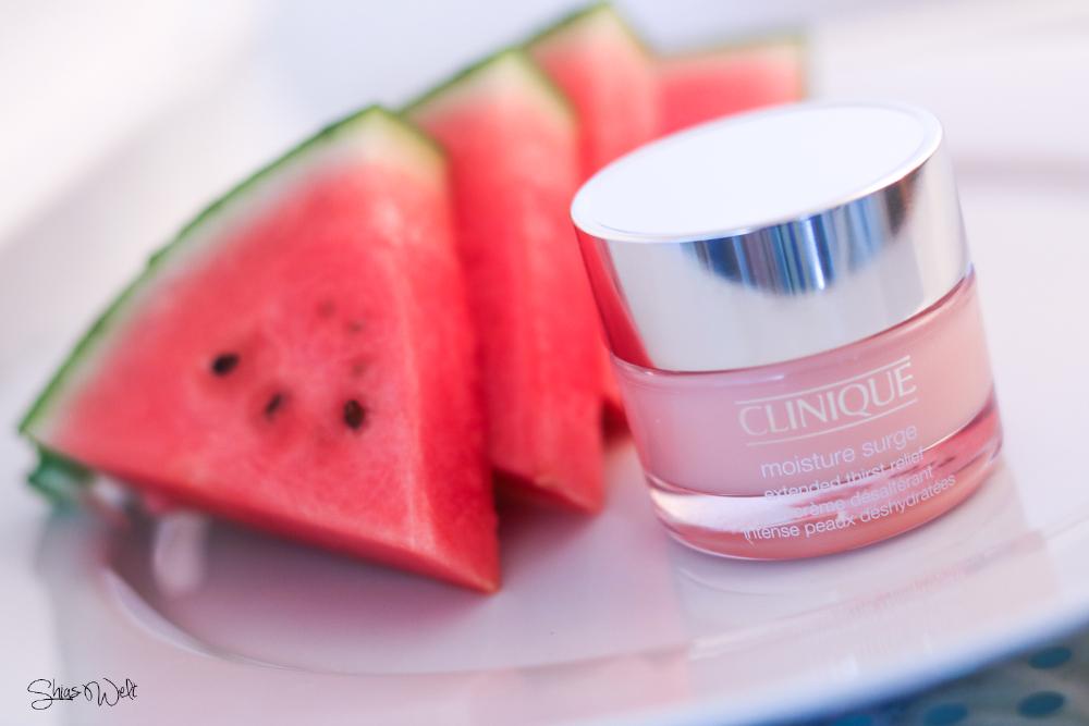 Clinique Moisture Surge Review Erfahrungsbericht Tipps Sommer Hautpflege