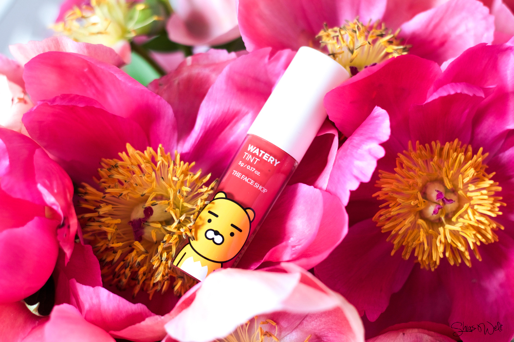 The Face Shop Kakao Friends Watery Tint Rose Garden 06