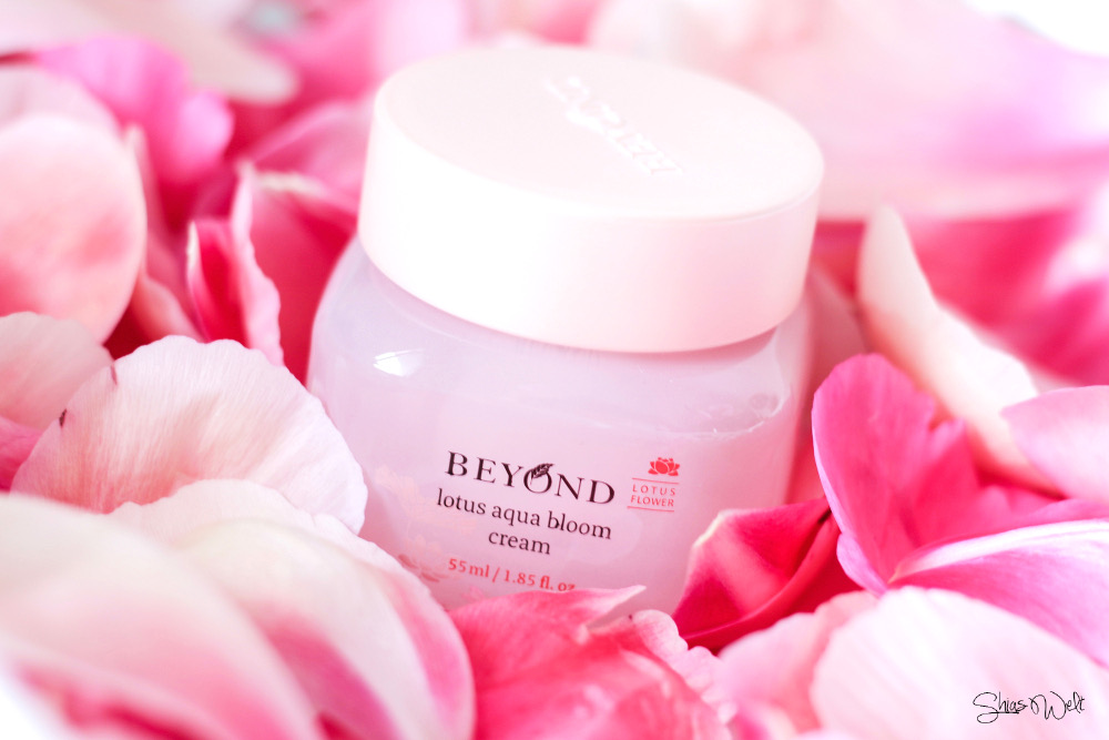 Beyond Lotus Aqua Bloom Cream Review Erfahrung Test Anwendung ShiShi Cherie Online
