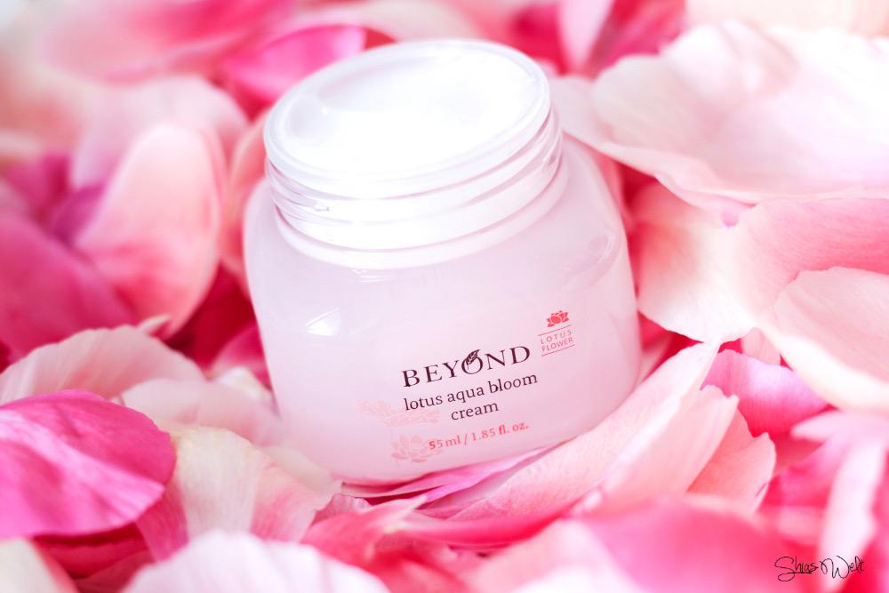 Beyond Lotus Aqua Bloom Cream Review Test Erfahrungsbericht