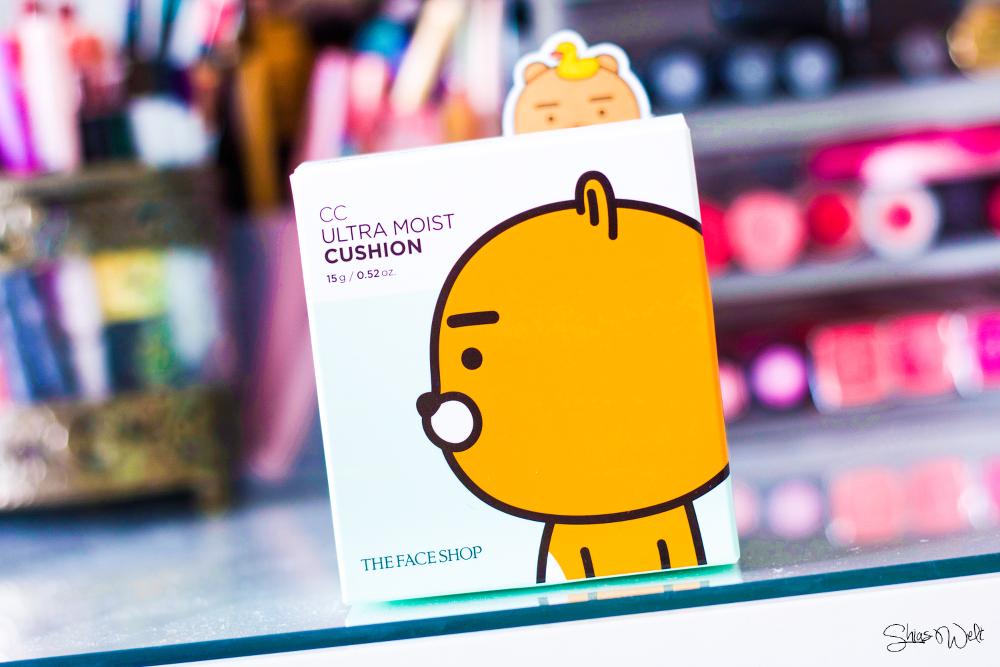 The Face Shop Kakao Friends CC Ultra Moist Cushion V103 Pure Beige