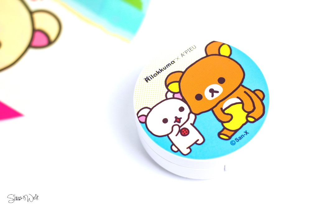 Rilakkuma x A'Pieu Air-Fit A'Pieu Cushion Blusher Review Test Blog Beauty Korean