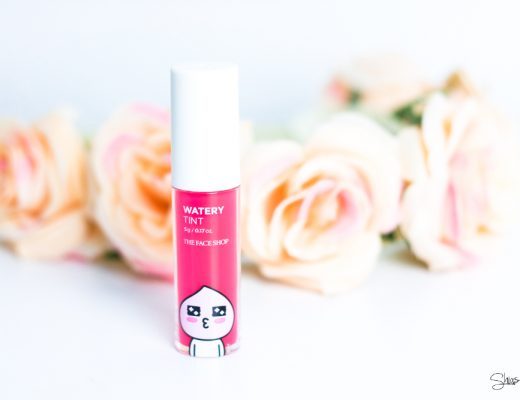 THE FACE SHOP X KAKAO FRIENDS WATERY TINT Anwendung Beauty Korean Peach
