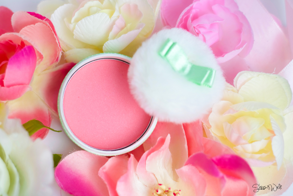 The Face Shop Lovely Me:EX Pastel Cushion Blusher Color Blush Beauty Blog Review
