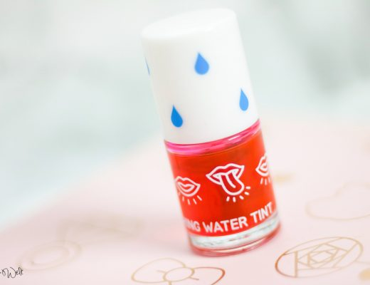 Korean Beauty APIEU Blushing Water Tint Review Test Anwendung Swatch