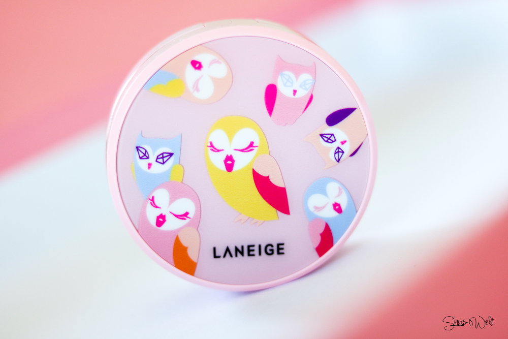 LANEIGE X LUCKY CHOUETTE BB CUSHION WHITENING #13 test Erfahrung Anwendung Swatch Make Up