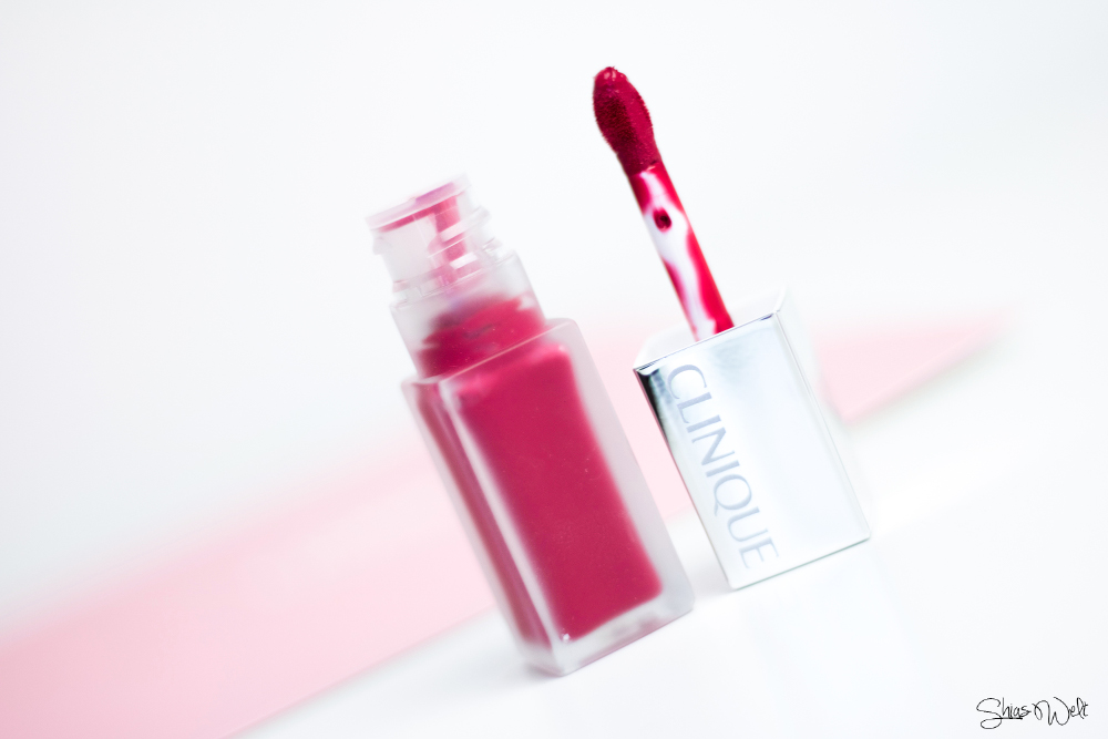 Clinique Pop Liquid™ Matte Lip Colour + Primer Petal Pop Sweetheart Pop Swatch Swatches
