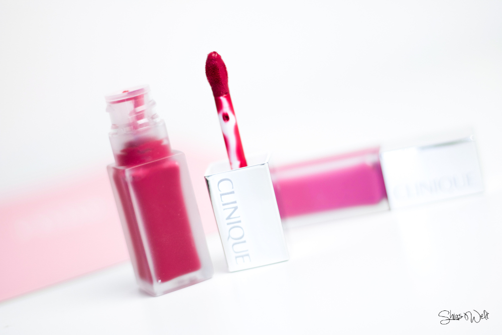 Clinique Pop Liquid™ Matte Lip Colour + Primer Petal Pop Sweetheart Pop Beauty Blog Shias Welt