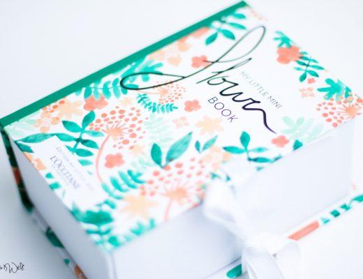 L'Occitane: My Little Mini Flower Book Gratis Einkauf Review Erfahrung
