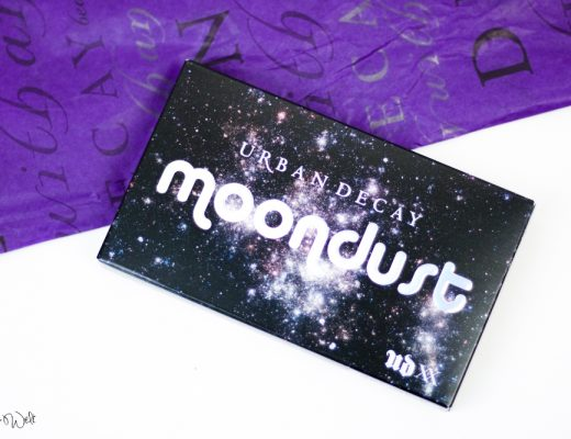 Urban Decay Moondust Review Test Make Up Look Glitter Beauty Shias Welt Swatch