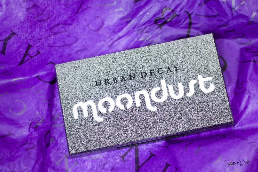 Urban Decay Moondust Review Test Make Up Look Glitter Beauty Swatch swatches