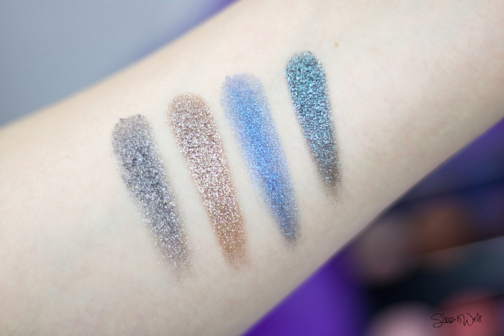Urban Decay Moondust Review Test Make Up Look Glitter Beauty