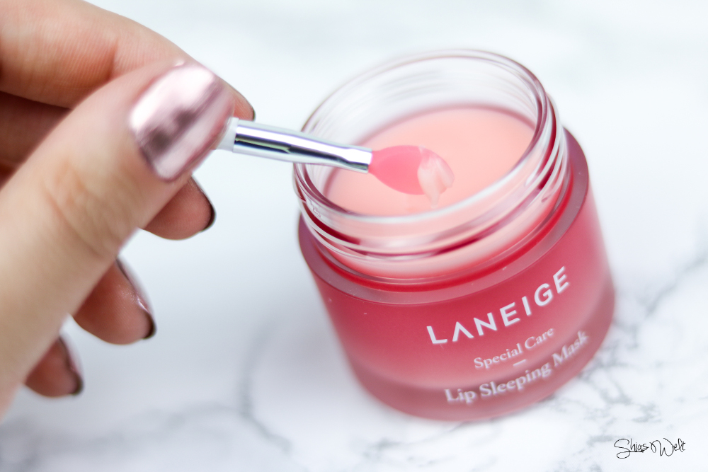 Laneige Lip Sleeping Mask Review Erfahrung Test Blog